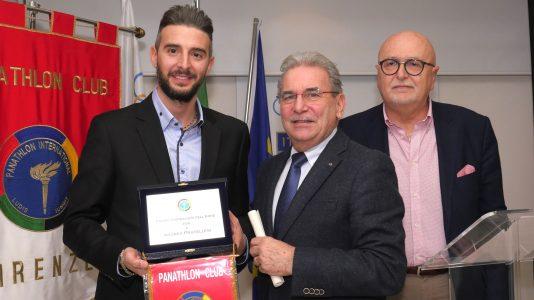 Riconoscimento anche per Andrea Pratellesi, giornalista di Radio Sportiva e collaboratore de La Nazione