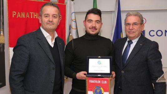 Panathlon Club Firenze premi per lo sport. A Lorenzo Bacci, pluricampione italiano di tiro a segno è andato il riconoscimento come miglior atleta dell'anno 2018, impegnato ora nelle competizioni della Coppa del mondo.