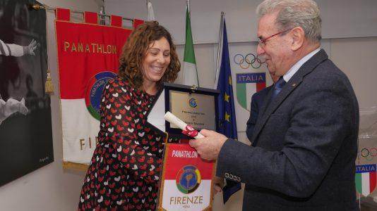 Premi per lo sport Panathlon. Premiata anche ladirigente tecnica e consulente arbitrale delle Zebre Rugby Club di Parma Monia Salvini.