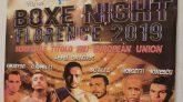 Boxe Night Florence 2019
